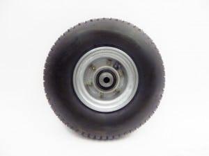 Roue 4 pouces 400x4 avec manchon r ducteur jante for Diametre exterieur pneu